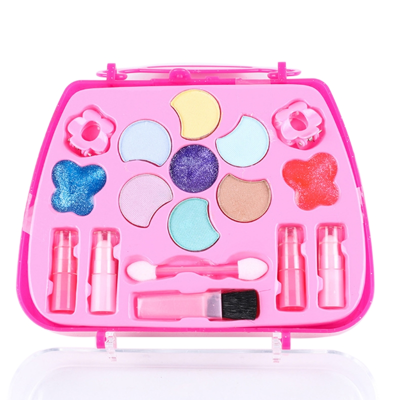 Girls Make Up Game Toy Set Plastic Miniature Pretend Play Box Funny Lovely Gifts image