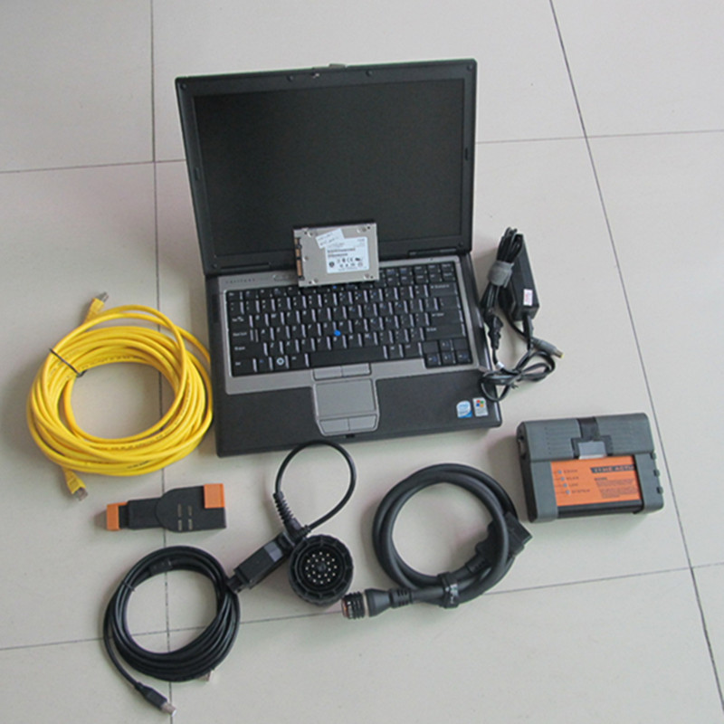 for bmw icom a2 diagnostic scanner with d630 laptop ram 4g with solid state disk 480gb ssd win7 best quality
