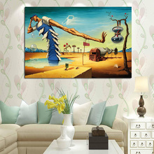Salvador Dali Favorite Art Pieces Canvas Posters Prints Wall Oil Painting Decorative Picture Modern Home Decoration Artwork