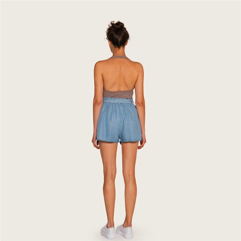 Moda Lady Sexy Verão Casuais Shorts de