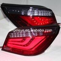 2003 2009 год для bmw для E60 светодиодные полосы задние фонари красные, черные цвет