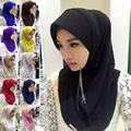 2017 Новая Мода оправе Мусульманский Хиджаб Шарф Исламские Платки Wrap Блестящие Волны Печати Шарф Оптовые Шарфы