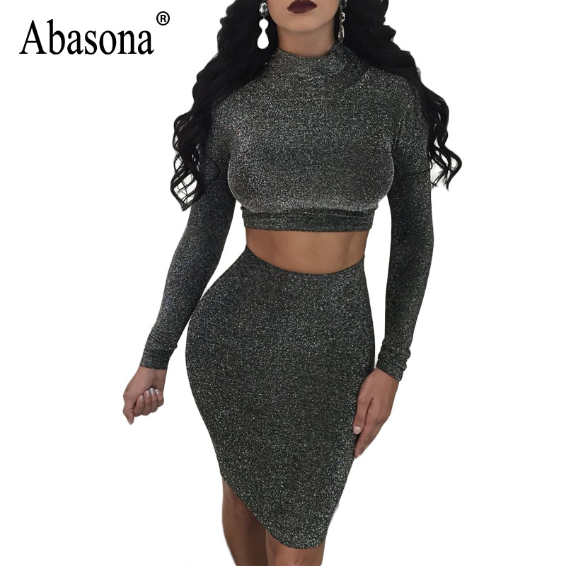 3b5deff4cecb90 Detail Feedback Questions about Abasona Women Two Piece Dress Set ...