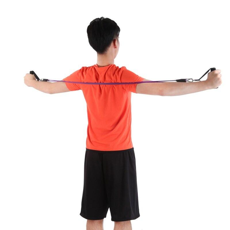Йога 2 в 1 Эспандеры Пилатес Фитнес латекс Crossfit Training bodyweight подготовки педаль тренажер Грудь Разработчик