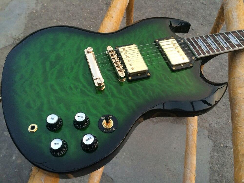 ộ_ộ ༽Guitarra Eléctrica 2018 nuevo G 400 guitarra/color verde ...