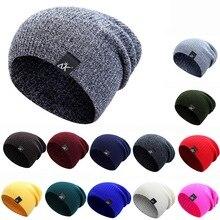 20e55c4023b Hirigin Men s Women s Winter Hat Knitted Wool Beanie Female Casual Outdoor  Mask Ski Caps Thick Warm