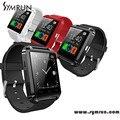 Symrun al por mayor bluetooth smart u8 reloj con pantalla táctil de múltiples idiomas