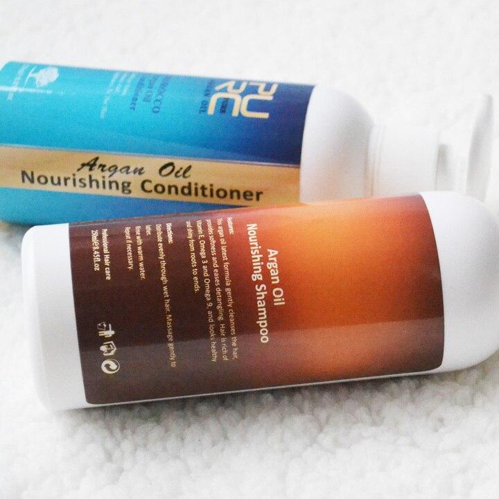 PURC 250ml Maghribi Argan Oil Minyak berkhasiat Syampu dan rambut - Penjagaan rambut dan penggayaan - Foto 3