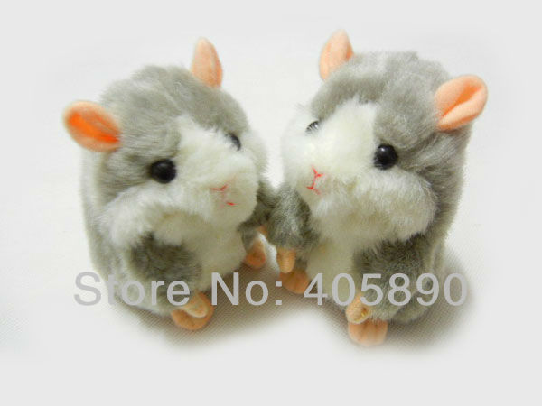3pcs/lot Cool Voice Activated Early Learning Hamster Talking Toy for Kids
