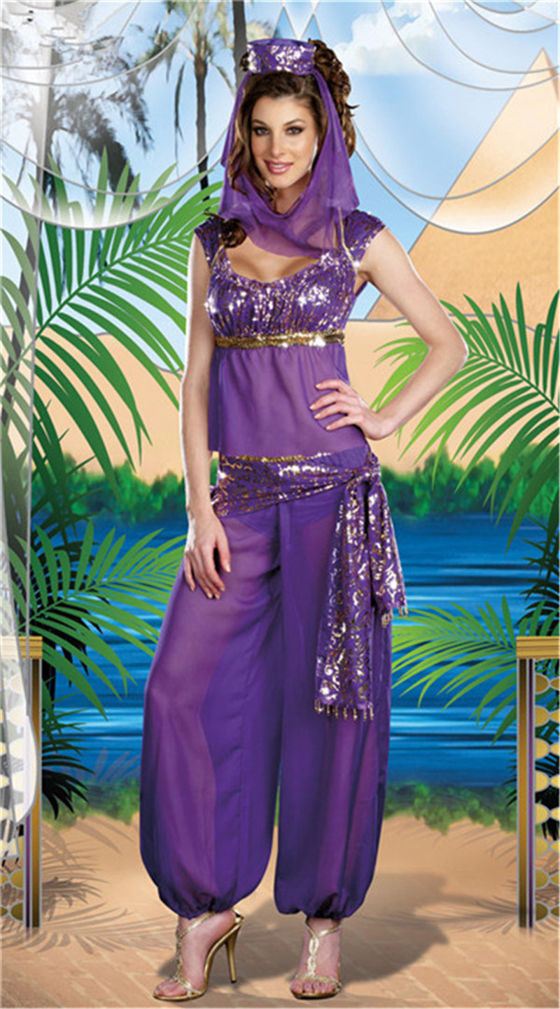 moonight sexy arabic dance costume sexy goddess genie princess