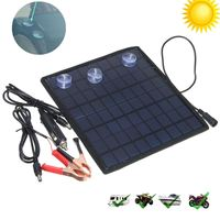 Good Quality Solar Panel Car Charger 12V Battery Charger Solar Maintainer Charger for 12V Battery of Car Automobile Motorcycle