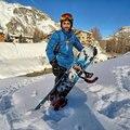 Лыжный костюм для мужчин зима 2018 водонепроницаемая ветрозащитная утепленная теплая одежда для снега мужские лыжные наборы куртка лыжные и ...