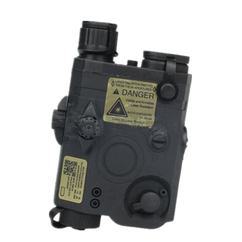 Tactical PEQ 15 LA-5 Battery Case battery box holder Suitable for 20 mm Black DE FG