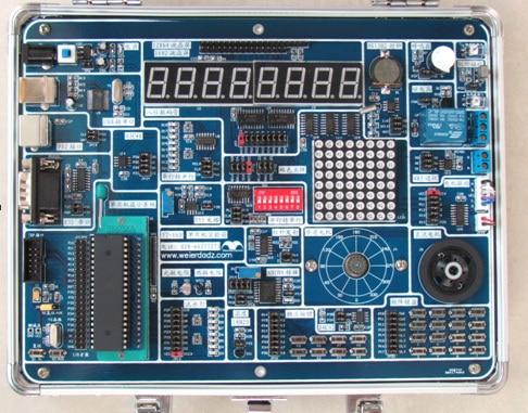Free Shipping    YT-16D Development Board Of The AVR AVR Experimental Box ATmega16 Development Board