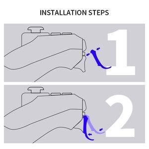 Image 3 - נתונים צפרדע כפוף L2 R2 כפתורים מפעיל Extender ערכת לפלייסטיישן 4 PS4/PS4 Slim/PS4 פרו משחק בקר אביזרי