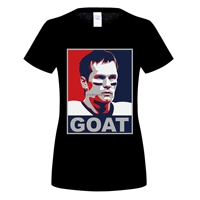 GILDAN divertente t shirt IALLYGOOD donne T shirt Tom Brady CAPRA 12 Divertente Casuale donna T Del Cotone