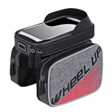 Bike Bag Waterproof For Bicycle Front Top Tube Cycling Phone Case Frame MTB Pannier Accessories Bags