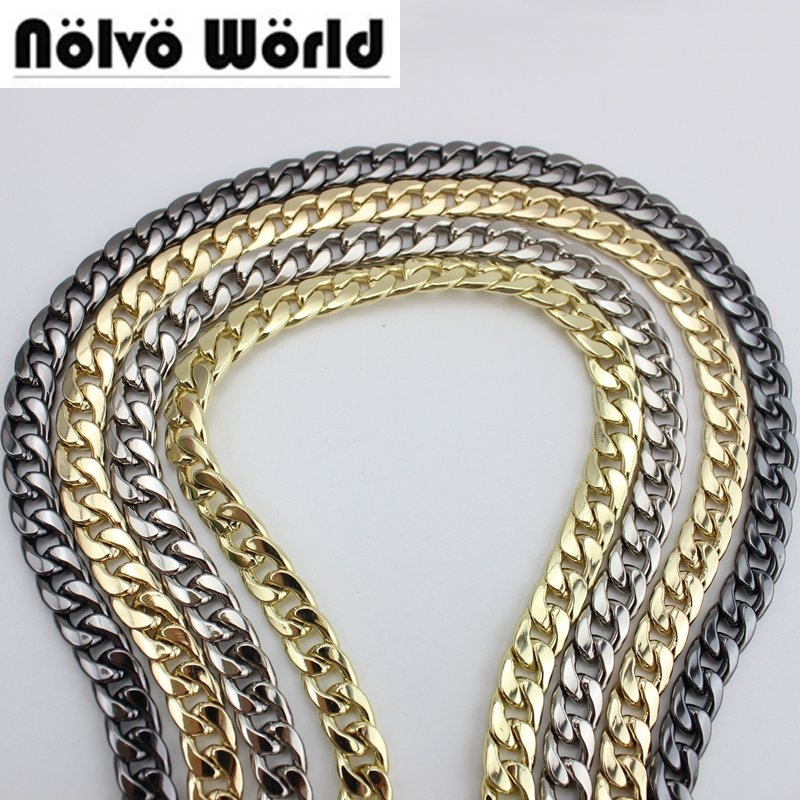 10 Meters 9mm Wide TOP Quality Plating Cover Wholesale DIY Chains Bags Purses Strap From DIY Accessory Factory Directly