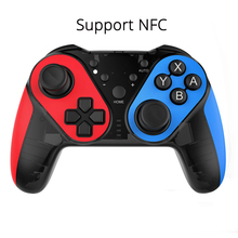 NFC Gamepad for Nintend Switch Wireless Bluetooth Adjustable Vibration Controller NS Console Game Joystick Accessorice Gaming wireless bluetooth game controller for nintend switch gamepad joystick for moblie phone games joystick