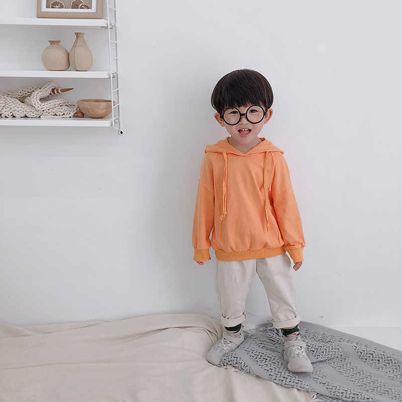 ae11433c080 ... Japanese style baby boys cotton solid color casual loose pants 1-4  years kids girls ...