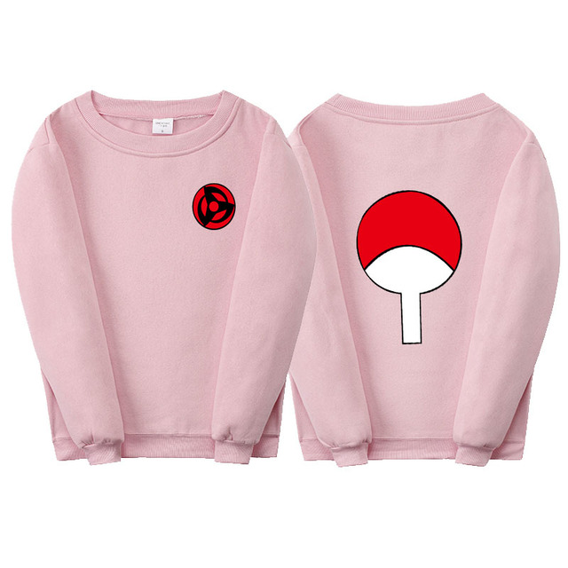 Unisex Naruto Capless Autumn Winter Fleece Hoodie Sweatshirt