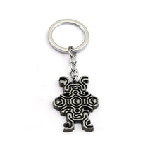 Julies Game Shadow of the Colossus Keychain Black Metal Titular da Chave Do Carro Saco Anel Chave Animal Figuras Chaveiro feminino JJ12979(China)