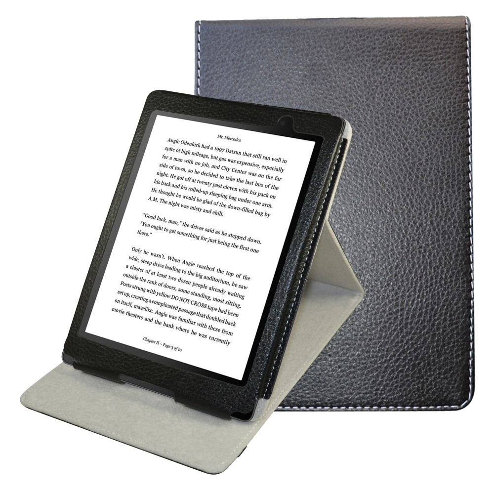 For Kobo Aura One Case, PU Leather eReader Stand Cover Protection Case For 7.8