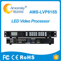 2018 hot sales ams lvp815s led video wall controller for soft rental outdoor screen led board display