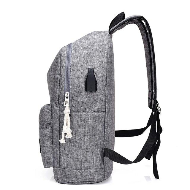 USB Charging Backpacks