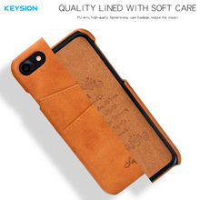 KEYSION Leather Case  For iPhone 6 6s 6Plus 6sPlus
