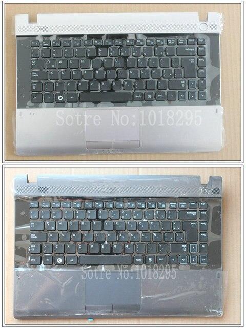 Новый Для Samsung RV411 RV415 RV420 Клавиатура Латинский Испанский SP/LA с Упора Для Рук TouchPad Teclado Запчасти Замена