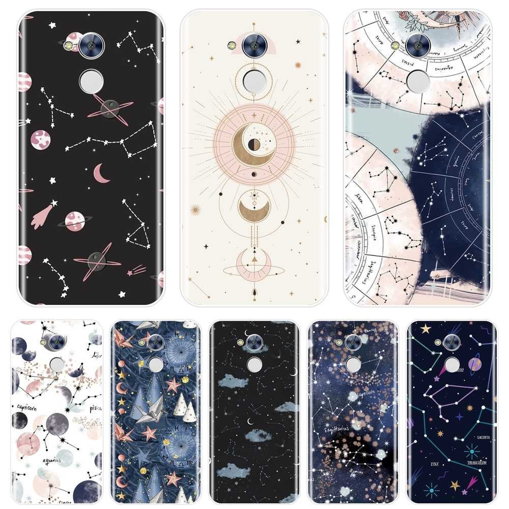 Art Star Space Abstract Back Cover For Huawei Honor 6 5A 4X 5X 6X Soft Silicone Phone Case For Huawei Honor 4C 5C 6A 6C Pro Case