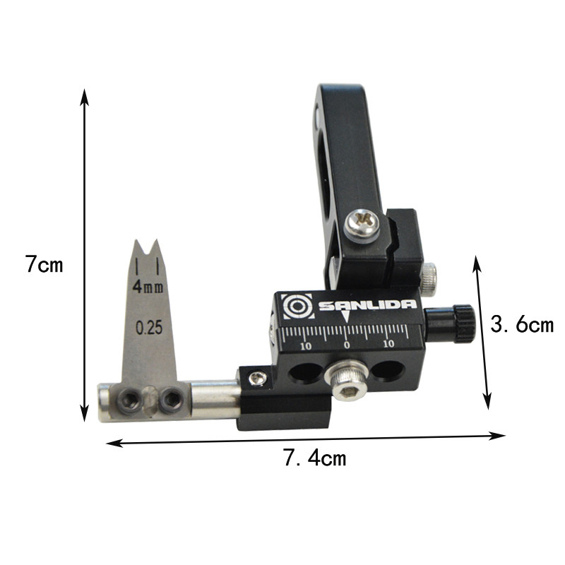 1pc Archery Compound Bow Arrow Rest Right Hand Manganese Steel Sheet Arrows Rest For Outdoor Bow Hunting Shooting Accessories in Bow Arrow from Sports Entertainment