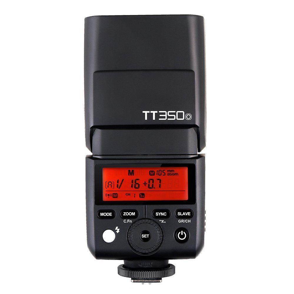 Godox Mini Speedlite TT350 TT350O Camera Flash TTL HSS GN36 for Olympus/Panasonic Mirrorless DSLR Camera in stock godox mini speedlite tt350 tt350o camera flash ttl hss gn36 for olympus panasonic mirrorless dslr camera