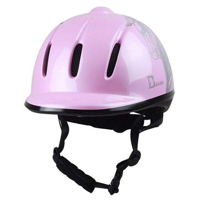 Horse Riding Helmet for Girl Riding Horse Helmet Portable Equestrian Helmet CE Certification 52-61 CM For Women Children