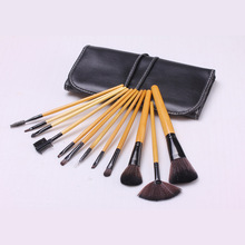 12pcs professional makeup brushes set hot Selling cosmetics tool Beauty Toiletry Kit Brand Makeup Brush кофеварка delonghi eci 341 w distinta 1050 вт белый