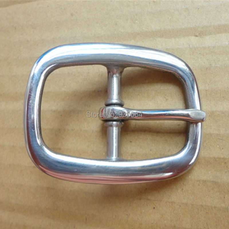 Hand Polished Stainless Steel Pin Buckle  Inner Width 40mm