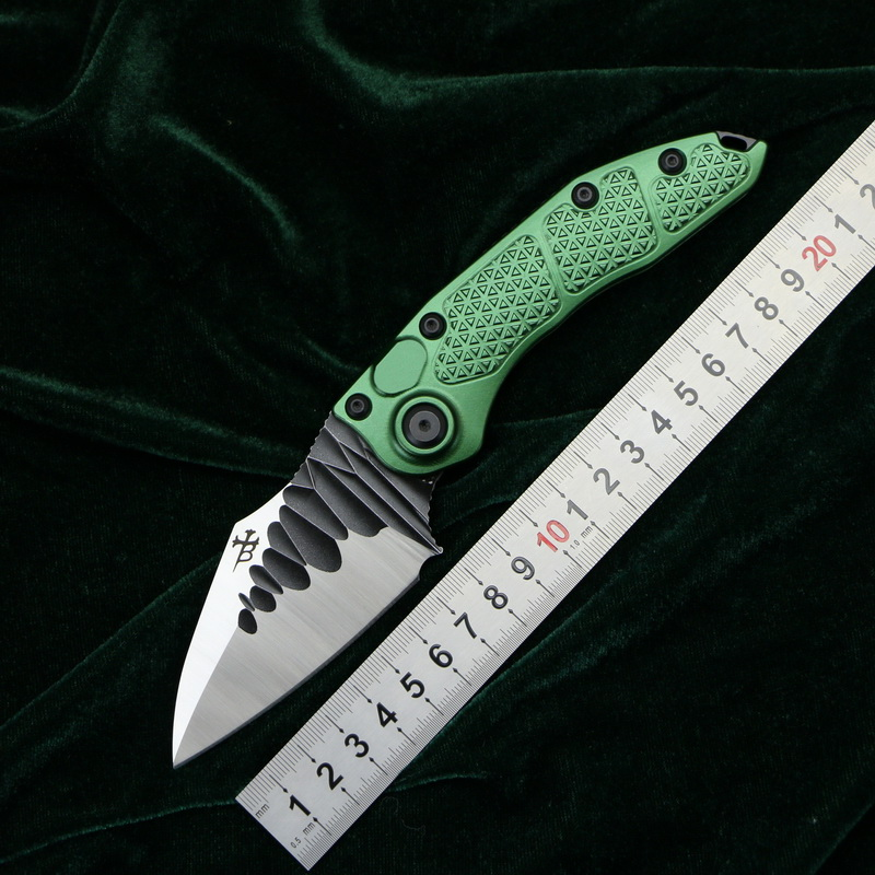 LOVOCOO Stitch folding knife D2 blade 6061 T6 Aluminum handle outdoor camping hunting pocket fruit kitchen