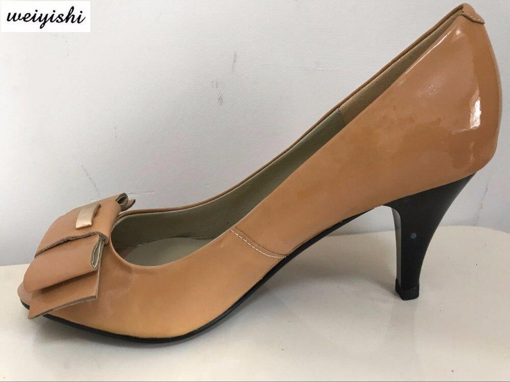 2018女性新しいファッション靴。レディー靴、weiyishiブランド033  グループ上の 靴 からの レディースパンプス の中 1