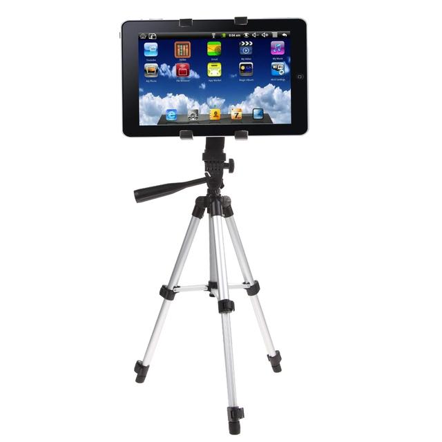 Profissional câmera tripé stand titular para ipad 2/3/4 mini air pro para samsung ipad 2/3/4 mini air pro tripés estande titular