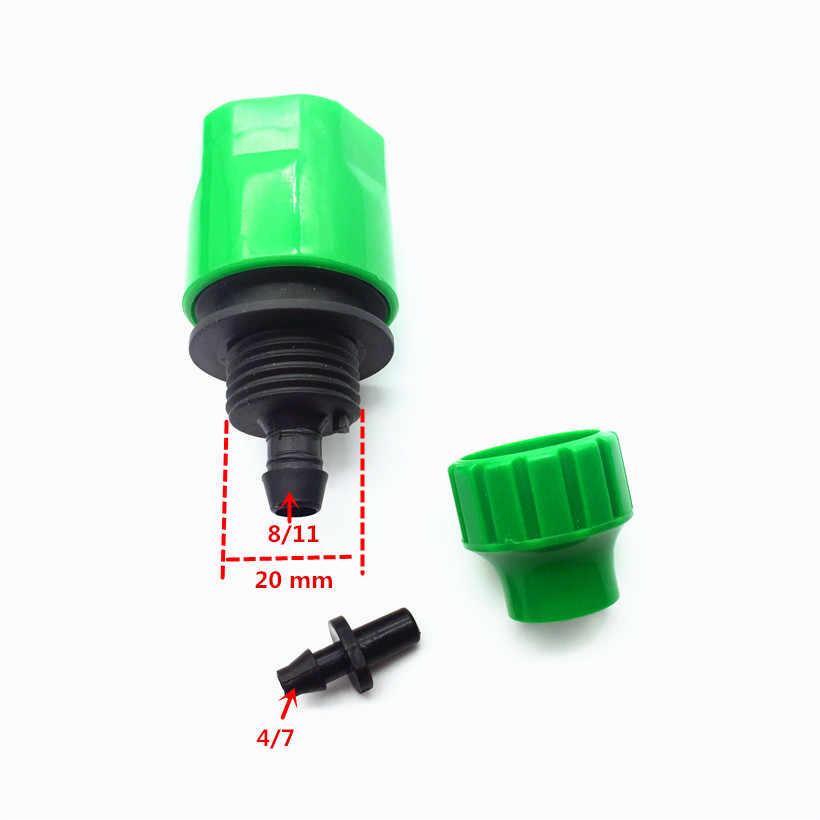 14-24mm wody z kranu uniwersalna Y złącze 2-sposób rozdzielacze zawór 1/4 Cal kolczasty szybkie złącze wąż ogrodowy do nawadniania kropelkowego 1 zestaw