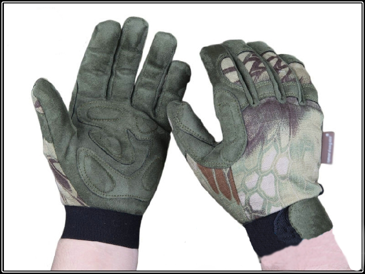 Tactical Lightweight Camo gloves full finger Mandrake Tyhone Highlander hunting gloves ...