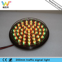 Cheap Traffic 200mm Lamp Three Color LED Flasher