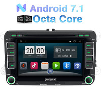Android 6 0 2GB RAM 7 Inch 2 Din Car DVD Player For VW Skoda Seat