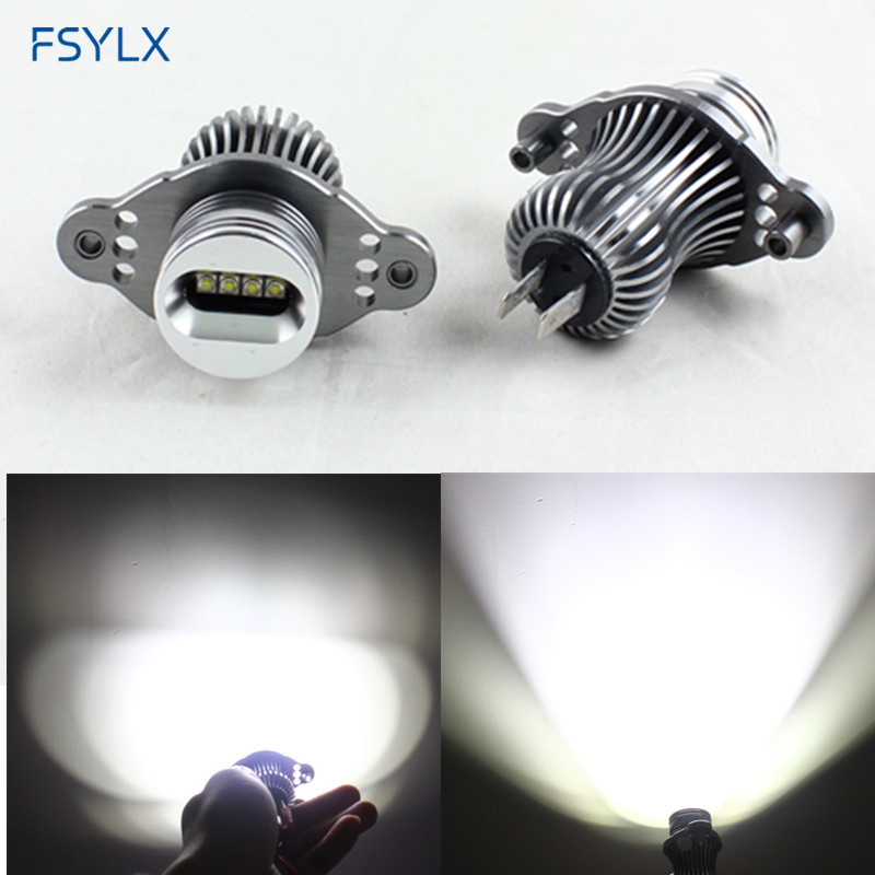 FSYLX 40W Car LED angel eyes marker for BMW E90 E91 LCI with halogen headlight for BMW E90 E91 LCI Car LED Angel Eyes bulbs ноутбук acer extensa ex2519 c08k nx efaer 050 nx efaer 050