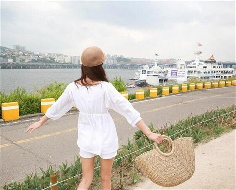 Beautiful Straw Bucket Bag for Summer 2021