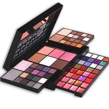 Moda Cor Eyeshadow Palette Set 36 74 sombra + Lip Gloss + Blush + 4 6 28 Corretivo Make up Kit de Cosméticos(China)