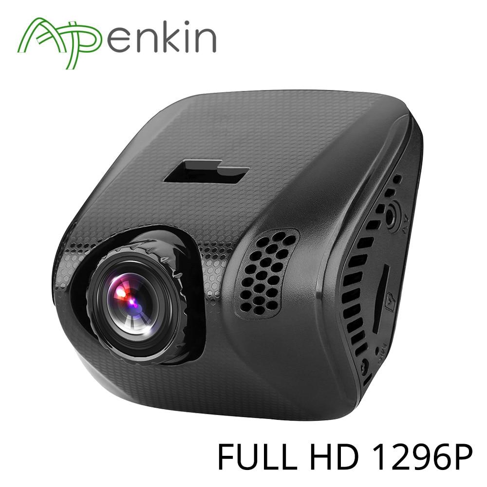 Arpenkin Mini Q8 2.0 Dash Camera 1296P Car Camera MSC8328P Video Recorder with G-Sensor Night Vision Gestures Capture GPS WIFI