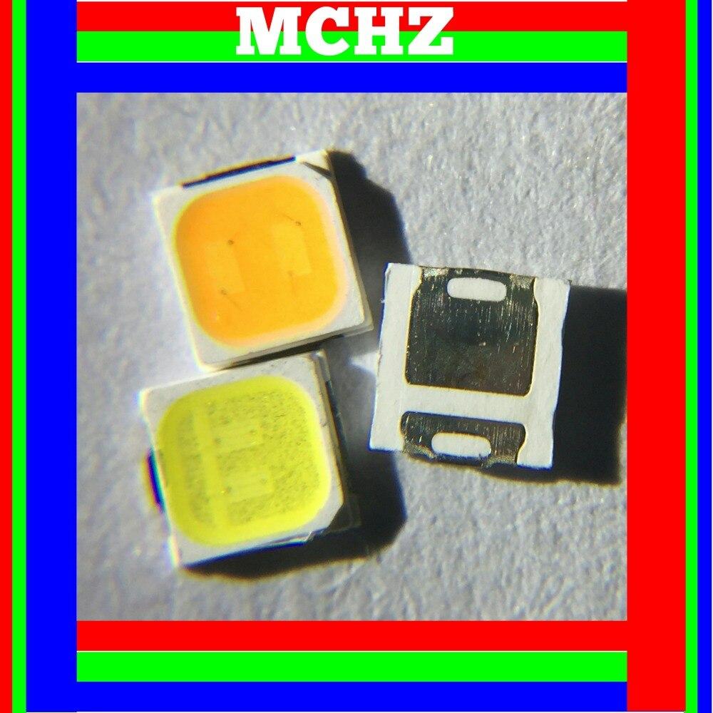 400 PCS/Lot 1 W haute puissance diode LED émetteur de lumière SMD 3030 puce 3 volts 350MA 120LM rouge bleu blanc vert jaune