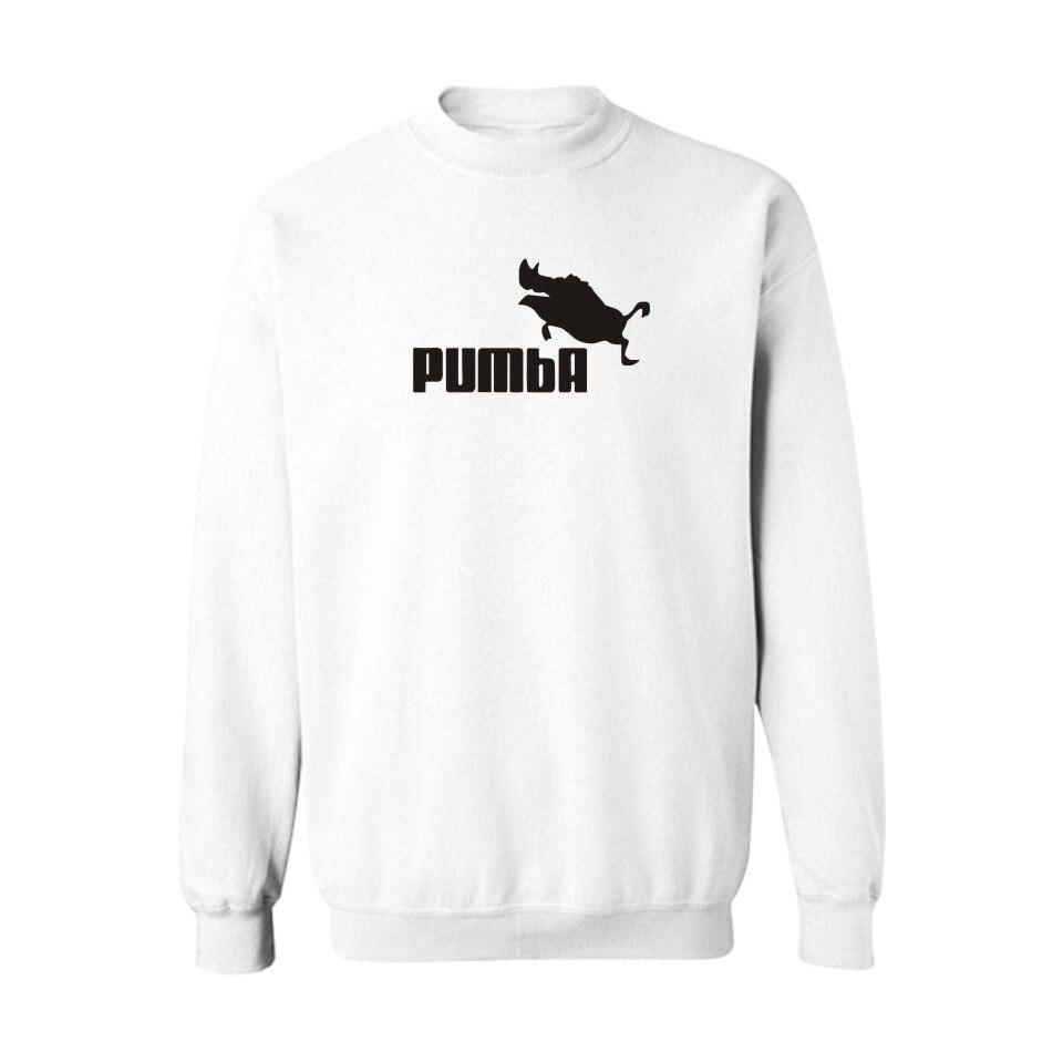 Classic Pumba Punk Sweatshirt Women Loose Hoody Street Wear Style in Hoodies Women Plus Zize 4XL Design